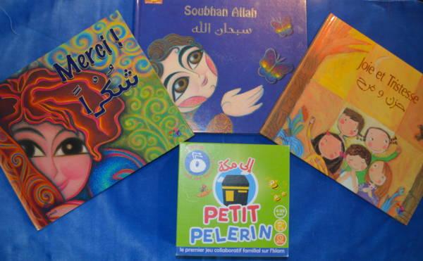 3 Livres bilingue français arabe Tawhid et Petit Pelerin